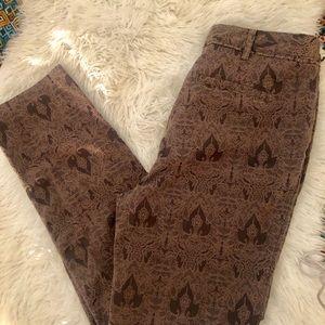Worthington lace printed dress pants